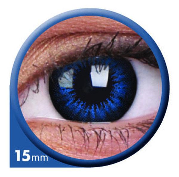 ColourVue Big Eyes - Cool Blue (2 čočky tříměsíční ) - nedioptrické