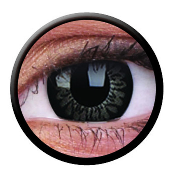 ColourVue Big Eyes - Dolly Black (2 čočky tříměsíční) - nedioptrické-doprodej; výroba ukončena