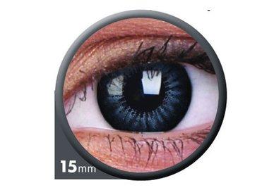 ColourVue Big Eyes - Evening Grey (2 čočky tříměsíční) - nedioptrické
