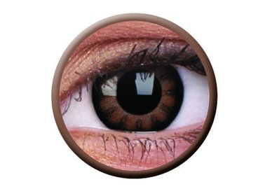 ColourVue Big Eyes - Sexy Brown (2 čočky tříměsíční) - nedioptrické