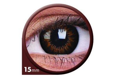 ColourVue Big Eyes - Sweet Honey (2 čočky tříměsíční) - nedioptrické