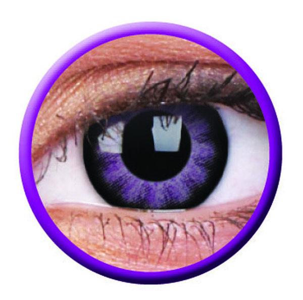 ColourVue Big Eyes - Ultra Violet (2 čočky tříměsíční) - nedioptrické-doprodej; výroba ukončena
