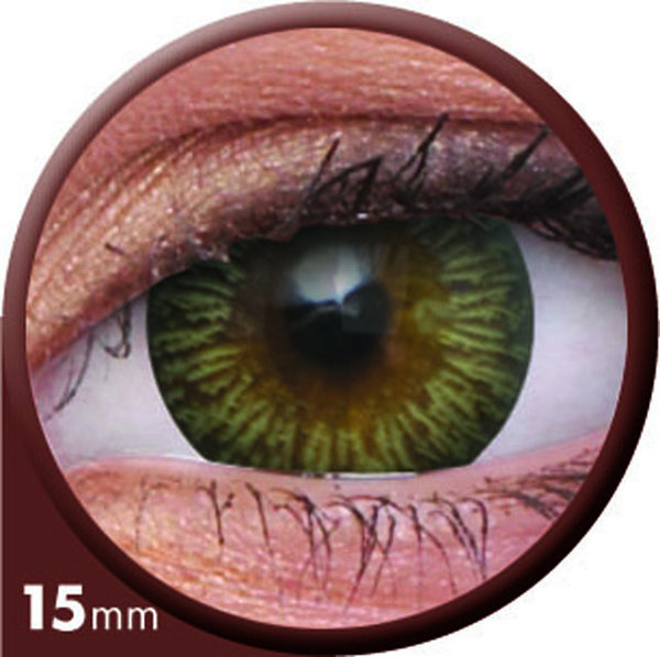 ColourVue Big Eyes - Enchanter Brown (2 čočky tříměsíční) - dioptrické - exp.12/2020