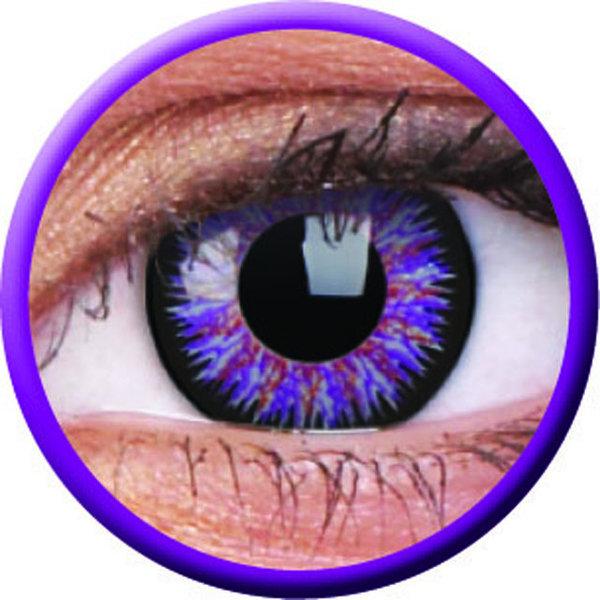 ColourVue Glamour - Violet (2 čočky tříměsíční) - nedioptrické-doprodej; výroba ukončena