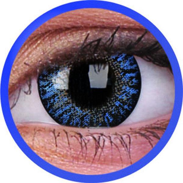 ColourVue Trublends - Blue (2 čočky měsíční) - nedioptrické