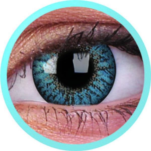 ColourVue Trublends One-Day - Aqua nedioptrické (10 čoček)