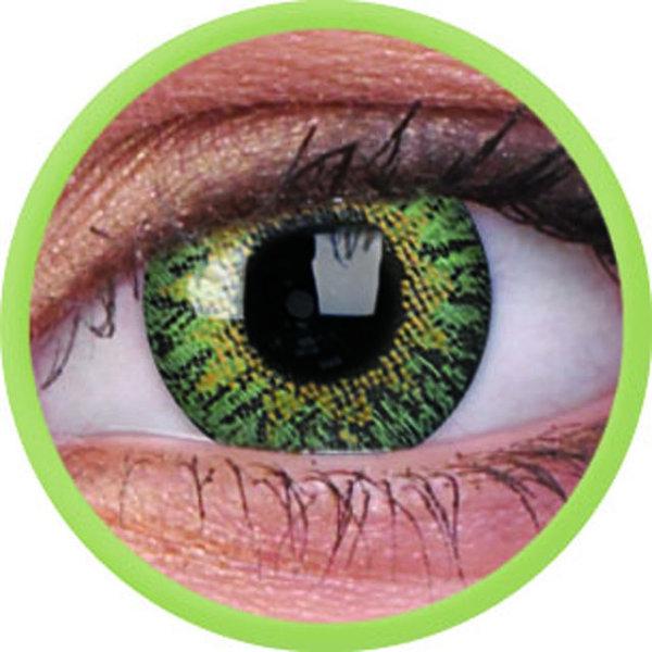 ColourVue Trublends One-Day - Green dioptrické -1,00 (10 čoček) - exp.10/2020