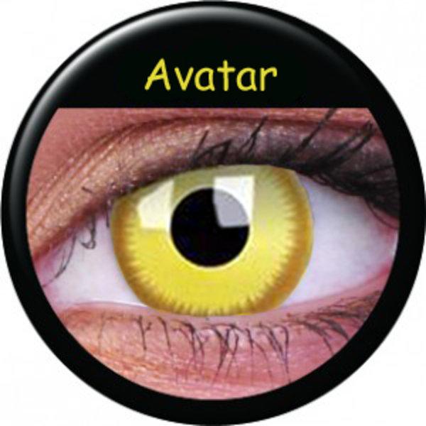 ColourVue CRAZY ČOČKY - Avatar (2 ks tříměsíční) - dioptrické - exp.08/2020