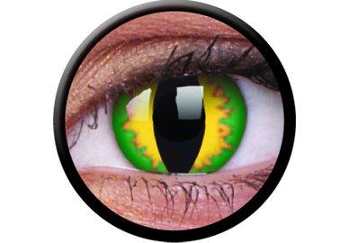 ColourVue Crazy čočky - Green Dragon (2 ks roční) - nedioptrické - exp.02/2021