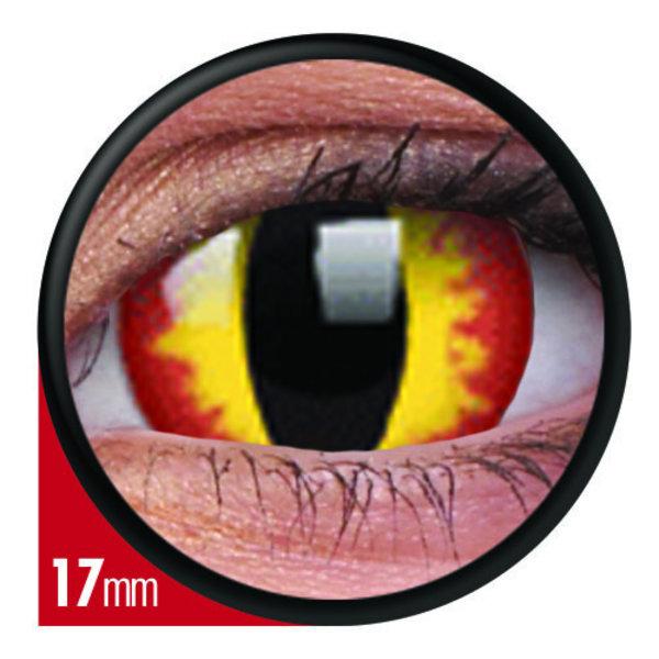 ColourVue Crazy čočky 17 mm - Smaug´s Eyes (2 ks roční) nedioptické - exp.02/2021