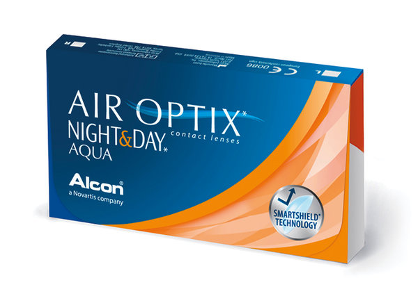 Air Optix Night & Day Aqua (6 čoček) Výprodej - Expirace 03/2021