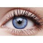 ColourVue Fizzy - Frozen Blue (2 čočky měsíční) - nedioptrické