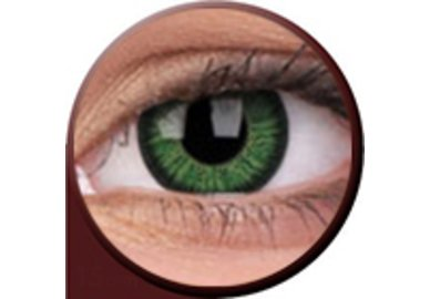Phantasee Vivid - Green (2 čočky tříměsíční) - dioptrické - exp.05,07/21