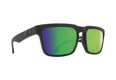 SPY sluneční brýle HELM Matte Black Green spectra - Happy Polarizační