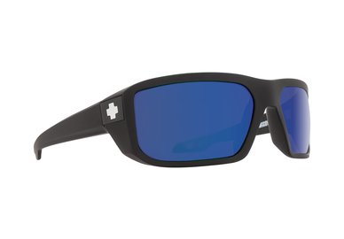 SPY sluneční brýle McCoy Matte Black Blue - Polarizační