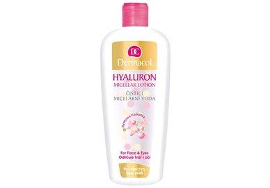 Dermacol Sensitive  - čistící micelární voda s kyselinou hyaluronovou 400 ml