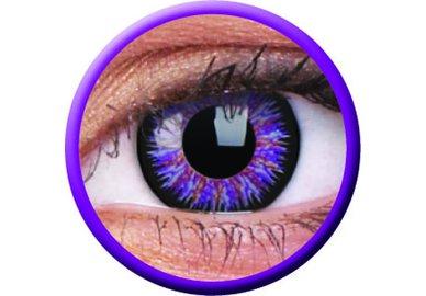 Glamour - Violet dioptrické  (2 tříměsíční čočky) - exp.09/2021