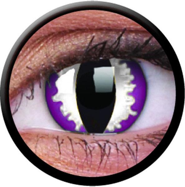 ColourVue CRAZY ČOČKY - Purple Dragon (2 ks tříměsíční) - nedioptrické - exp.09/21