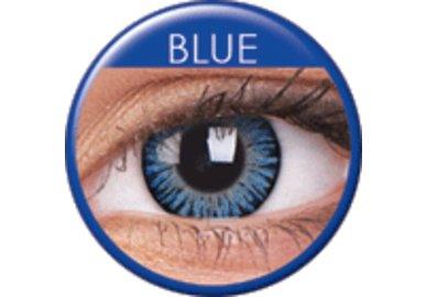 ColourVue 3 Tones - Blue (2 čočky tříměsíční) - nedioptrické - Poškozený obal