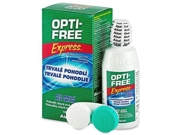 Opti Free Express 120 ml - Výprodej