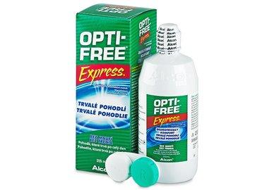Opti-Free Express 355 ml s pouzdrem - poškozený obal