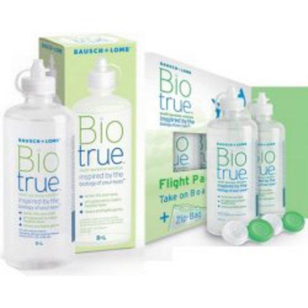 Biotrue 300ml s pouzdrem + Flight Pack 2x60 ml