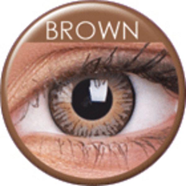 ColourVue 3 Tones - Brown (2 čočky tříměsíční) - nedioptrické
