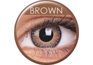 ColourVue 3 Tones - Brown (2 čočky tříměsíční) - dioptrické