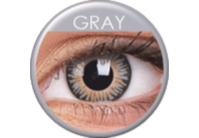 ColourVue 3 Tones- Grey (2 čočky tříměsíční) - dioptrické