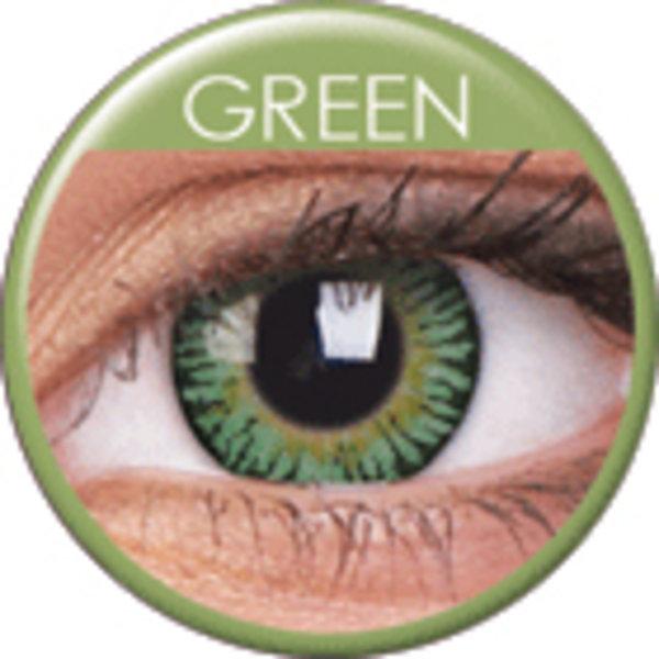 ColourVue 3 Tones - Green (2 čočky tříměsíční) - dioptrické