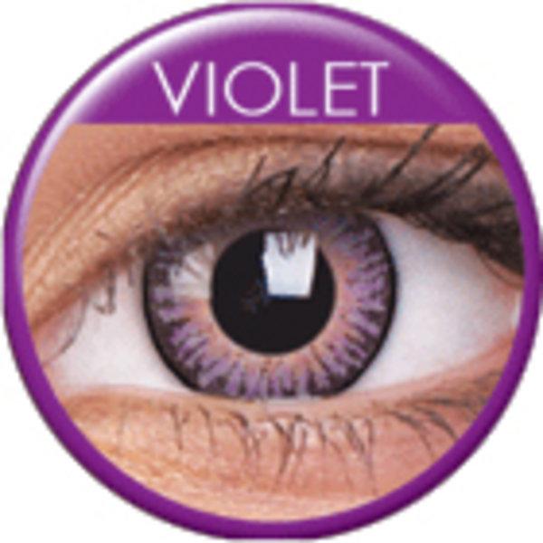 ColourVue 3 Tones - Violet (2 čočky tříměsíční) - dioptrické - výprodej exp.07/21