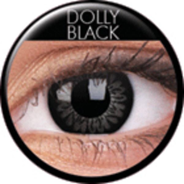 ColourVue Big Eyes - Dolly Black - Toric  (2 čočky tříměsíční ) - dioptrické