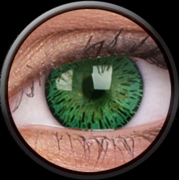 ColourVue Elegance - Green (2 čočky tříměsíční) - dioptrické -exp.12/2016
