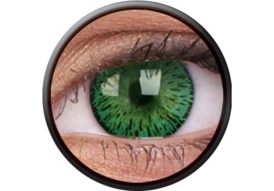 ColourVue Elegance - Green (2 čočky tříměsíční) - nedioptrické - výprodej exp.2020