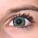 ColourVue Elegance - Green (2 čočky tříměsíční) - nedioptrické - exp.08/2020