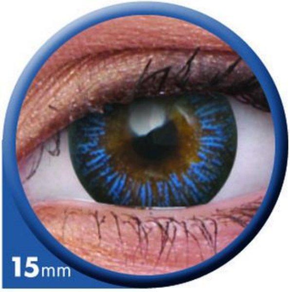 ColourVue Big Eyes - Enchanter Blue (2 čočky tříměsíční) - nedioptrické - výprodej exp.2020