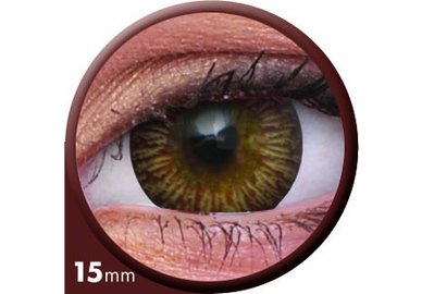 ColourVue Big Eyes - Enchanter Brown (2 čočky tříměsíční) - nedioptrické