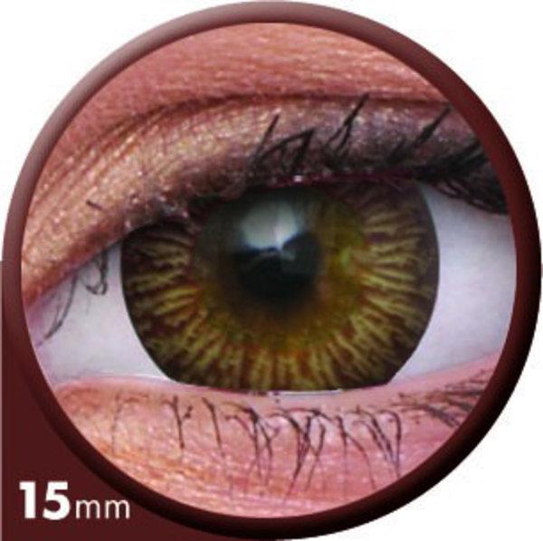 ColourVue Big Eyes - Enchanter Brown (2 čočky tříměsíční) - nedioptrické - výprodej exp.2020