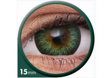 ColourVue Big Eyes - Enchanter Green (2 čočky tříměsíční) - dioptrické - výprodej exp.2020