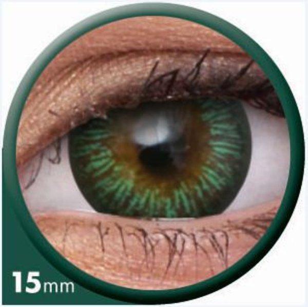 ColourVue Big Eyes - Enchanter Green (2 čočky tříměsíční) - dioptrické - výprodej exp.01/2020