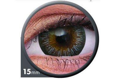 ColourVue Big Eyes - Enchanter Grey (2 čočky tříměsíční) - dioptrické - výprodej exp.2020