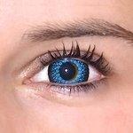 ColourVue Eyelush - Blue (2 čočky tříměsíční) - dioptrické - exp. rok 2017