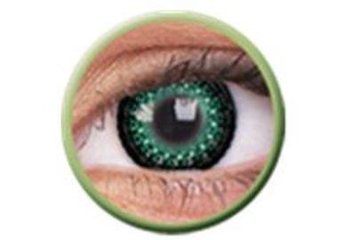 ColourVue Eyelush - Green (2 čočky tříměsíční) - dioptrické - výprodej exp.2020