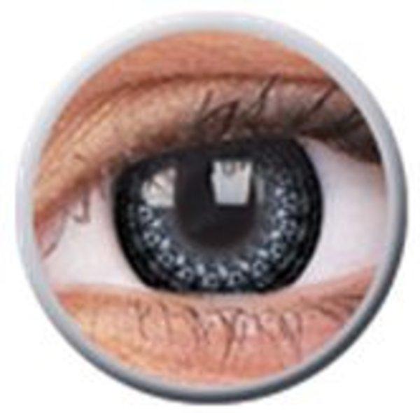 ColourVue Eyelush - Grey (2 čočky tříměsíční) - nedioptrické - výprodej exp.2020