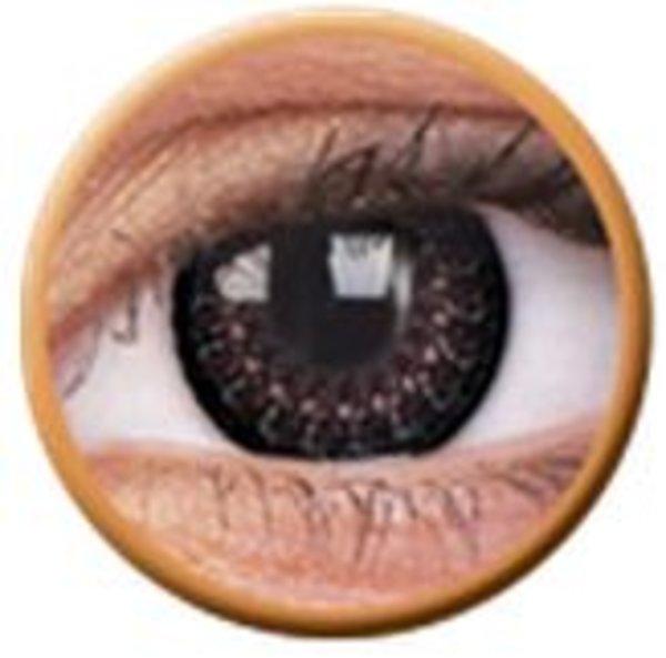 ColourVue Eyelush - Choco (2 čočky tříměsíční) - nedioptrické - výprodej exp.2020