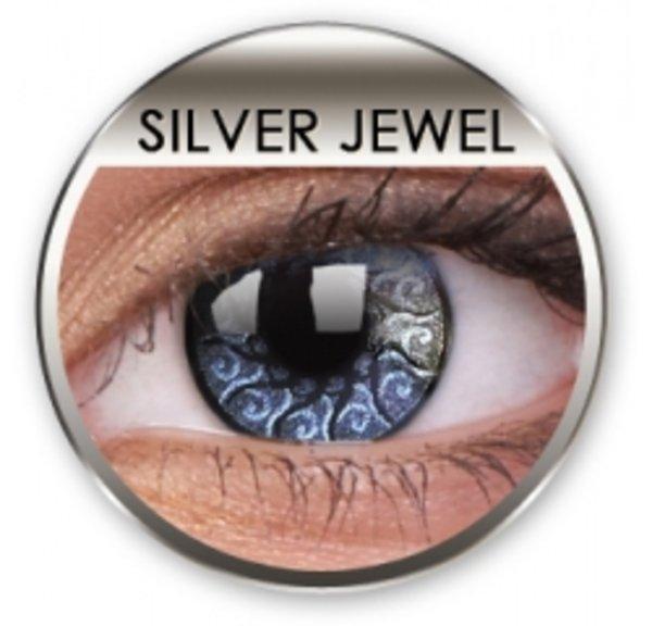 Jewel - Silver Jewel nedioptrické (2 tříměsiční čočky)