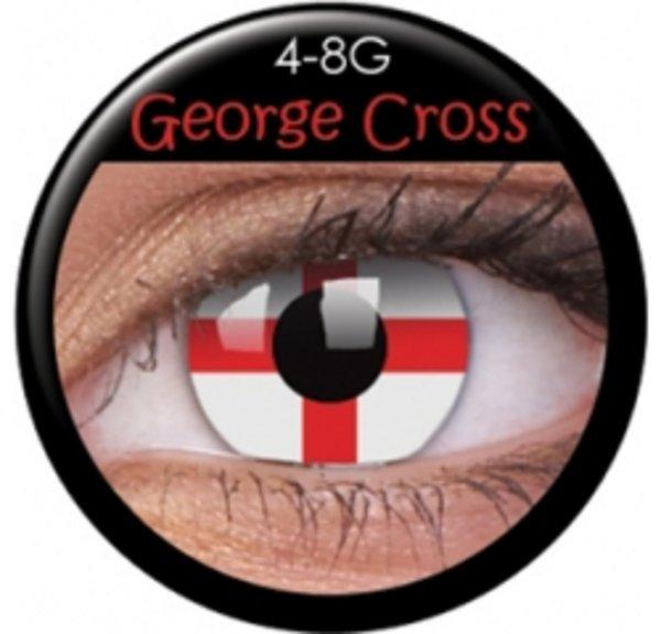 ColourVue Crazy čočky - Georgeous Cross (2 ks roční) - nedioptrické