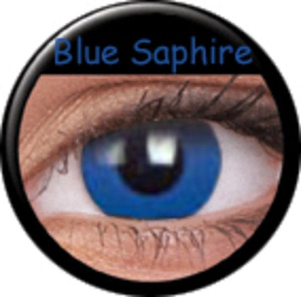 Phantasee Crazy čočky - Blue Saphire (2 ks roční) - nedioptrické