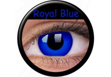 ColourVue Crazy čočky - Royal Blue (2 ks roční) - nedioptrické
