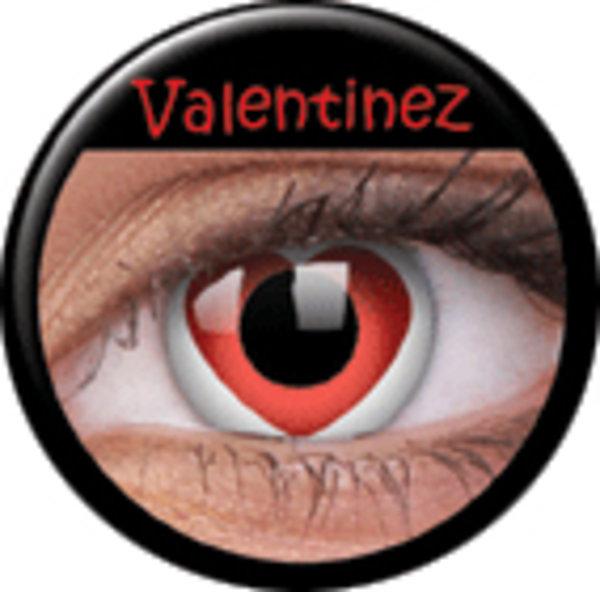 ColourVue Crazy čočky - Valentinez (2 ks roční) - nedioptrické - exp.12/2019